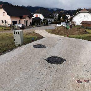 OBVOZ za Pod gonje, Stražišče, Brinjeva gora
