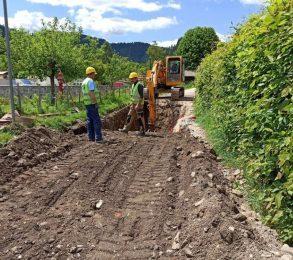 odstranitev asfalta in pričetek izkopov, 27.5.2020