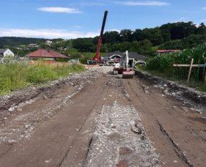 Izkop za dostopno cesto - 23.7.2020