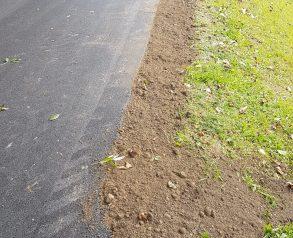 Izvedba asfalta in ureditev bankin - 19.9.2020