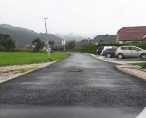 Izvedba grobega asfalta - 17.9.2020