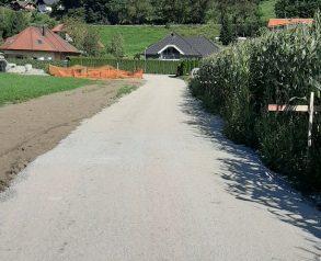 Nasutje spodnjega ustroja dostopne ceste - 4.9.2020