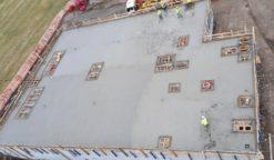 Betoniranje krovne plošče - 21.12.2020