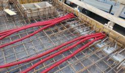 Polaganje zaščitnih cevi za elektro inštalacije - 18.12.2020