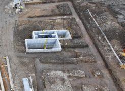 Izkop za pasovne temelje - 18.12.2020