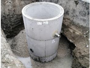 Vgradnja in zasip črpalnega jaška - 03.02.2021