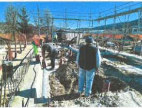 Izvedba kanalizacije pod ploščo – 3.3.2021