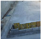 Izvedba podložnega betona in poglobitve - 08.03.2021