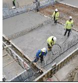 Betoniranje temeljne plošče - 11.03.2021