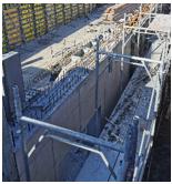 Izvedba betona sten in delovnega odra - 31.03.2021