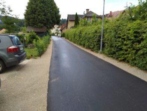 Izvedba finega asfalta – 01.07.2021