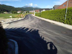 Izvedba finega asfalta na kanalu C – 15.07.2021
