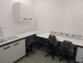 Montirana oprema v laboratoriju - 24.8.2021
