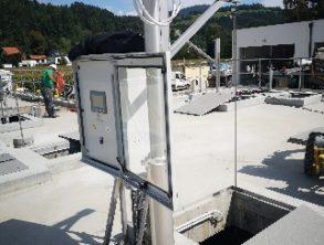 Zmontiran preliv blatnice na bazenu - 30.8.2021