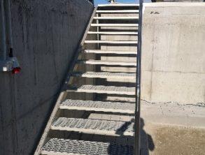ZMONTIRANO stopnice NA BAZEN – 23.8.2021